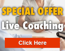 Special Offer! Live Coaching
