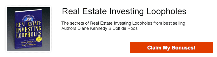 Real Estate Investing Loopholes